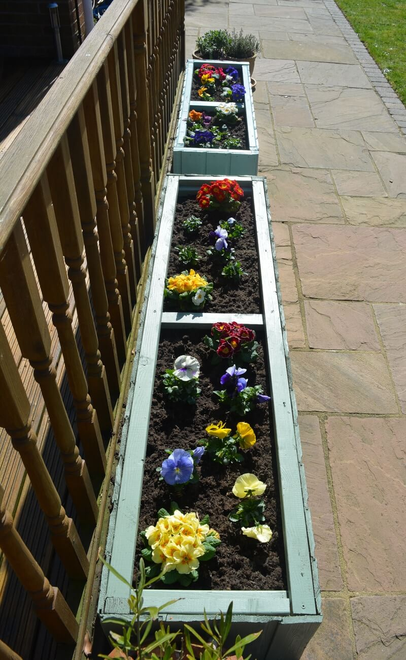 Classic Beauty With Traditional Flower Boxes