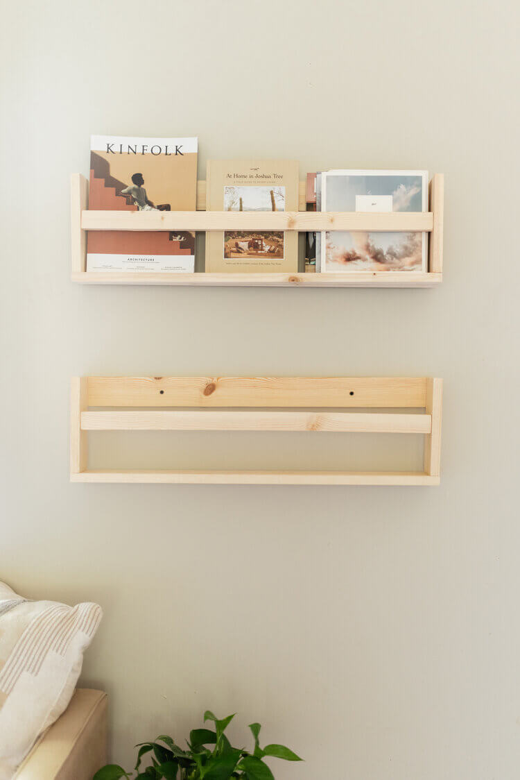 Keep It Clean with Crate Shelving