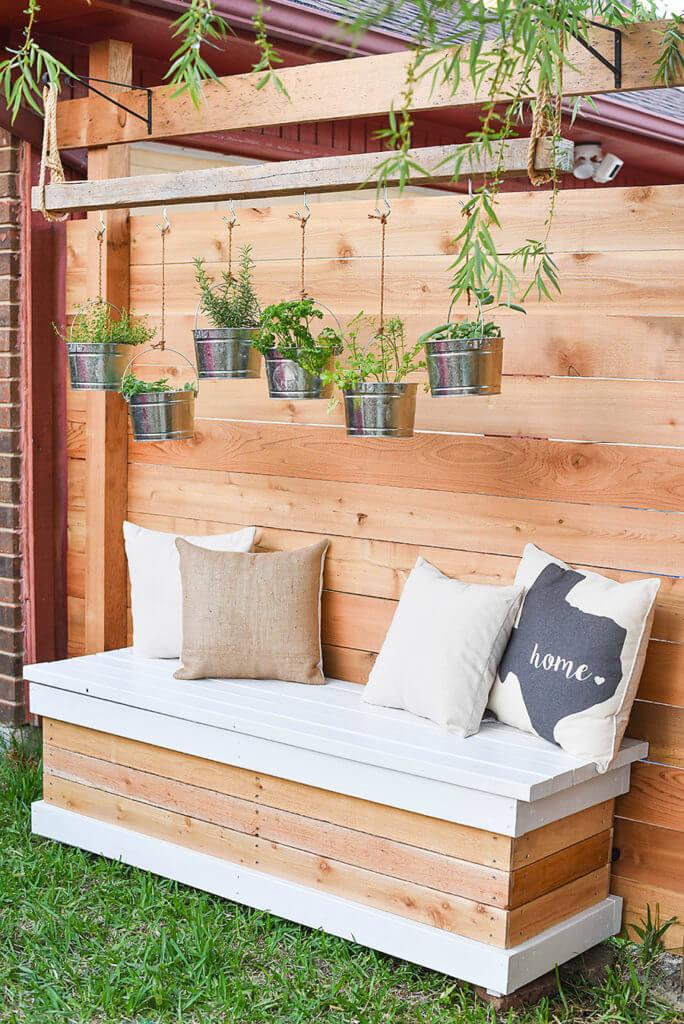 Hanging Fresh Herb Fixture and Garden