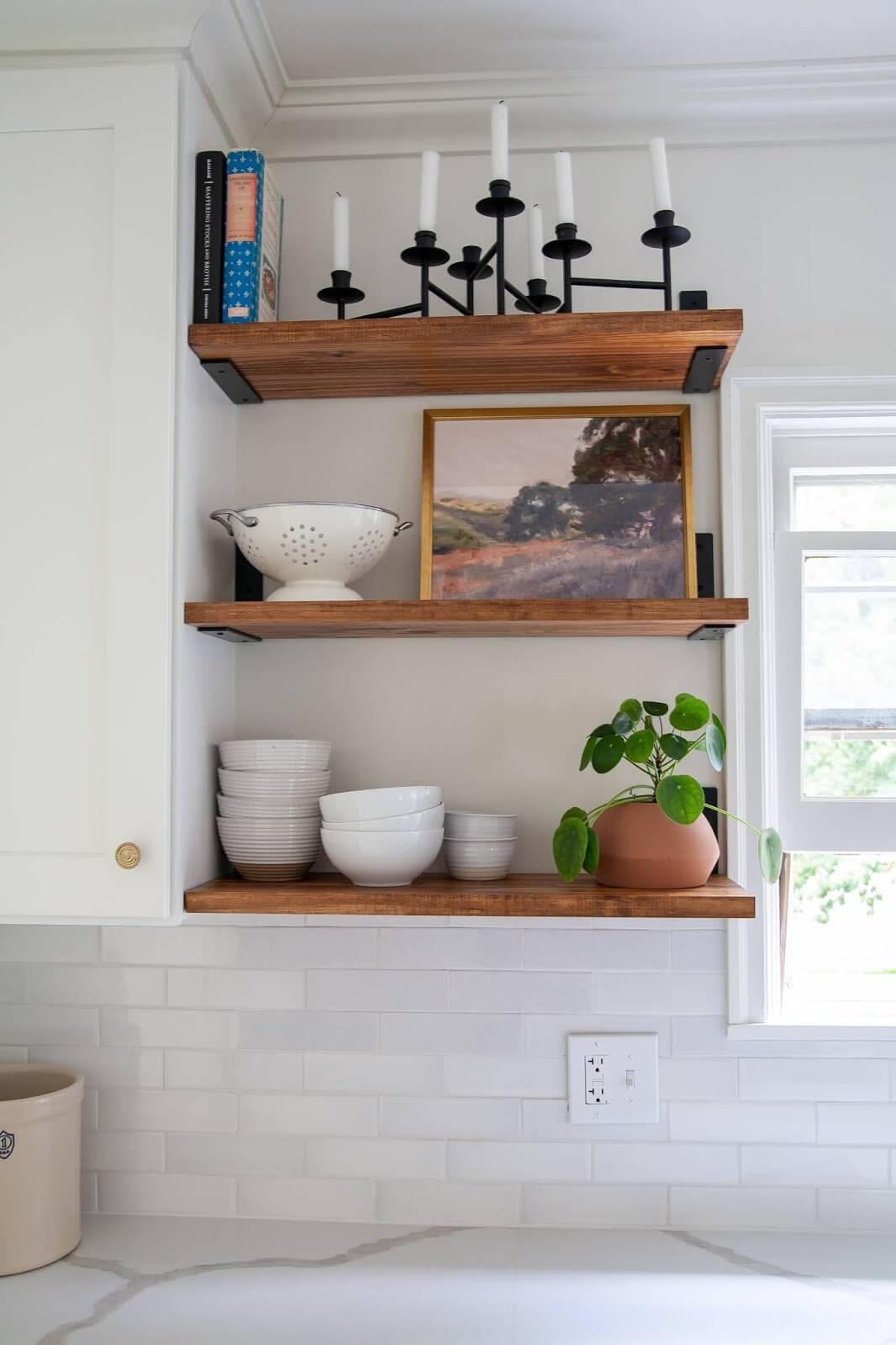 Three Cheers for Tiered Shelving