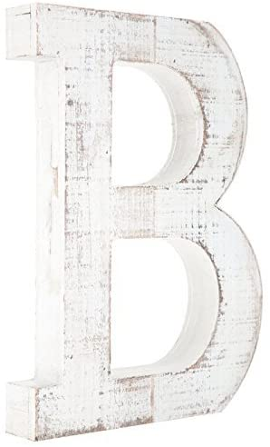 Great Distressed Standing Monogram Letter