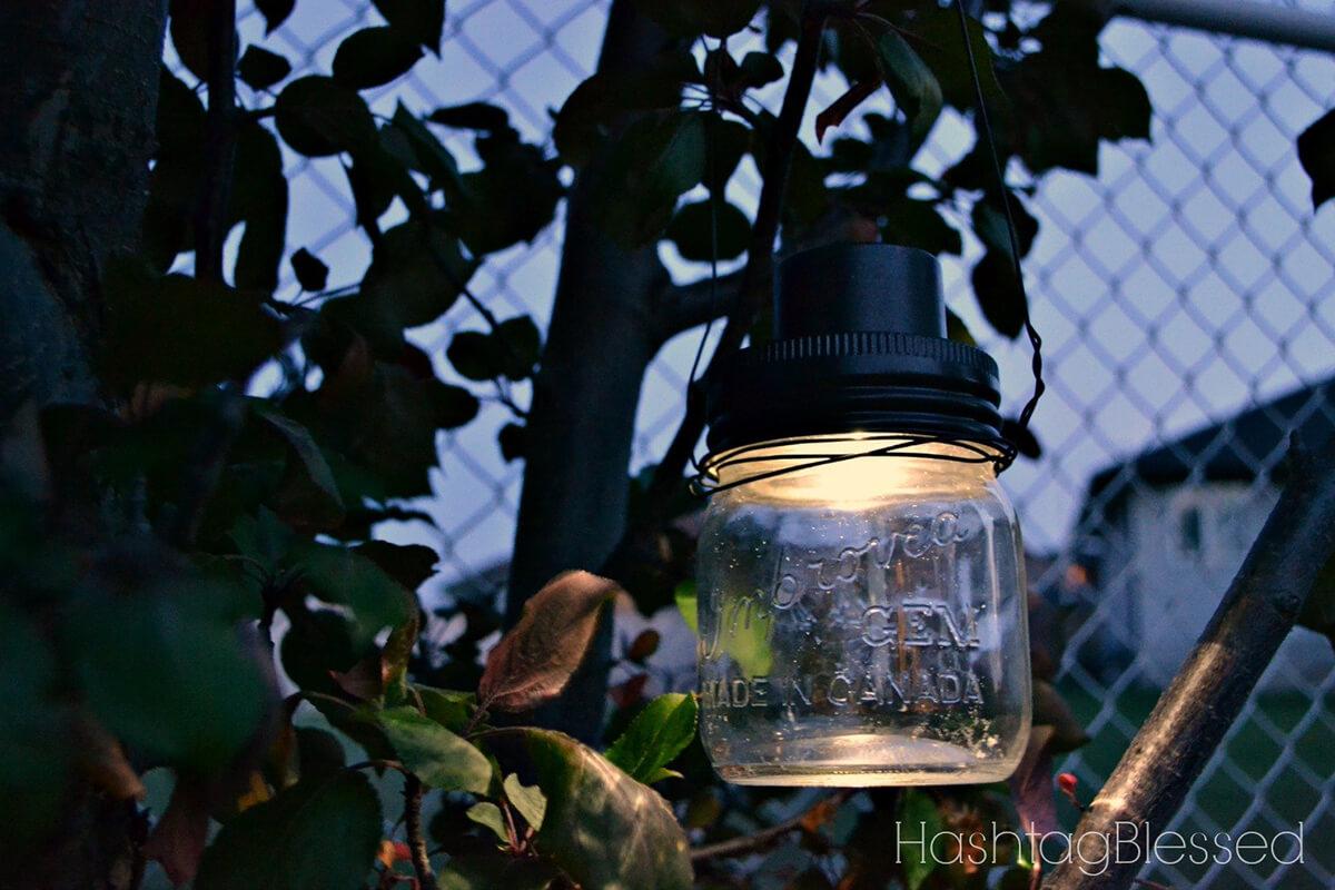 Whimsical Hanging Jar Lights