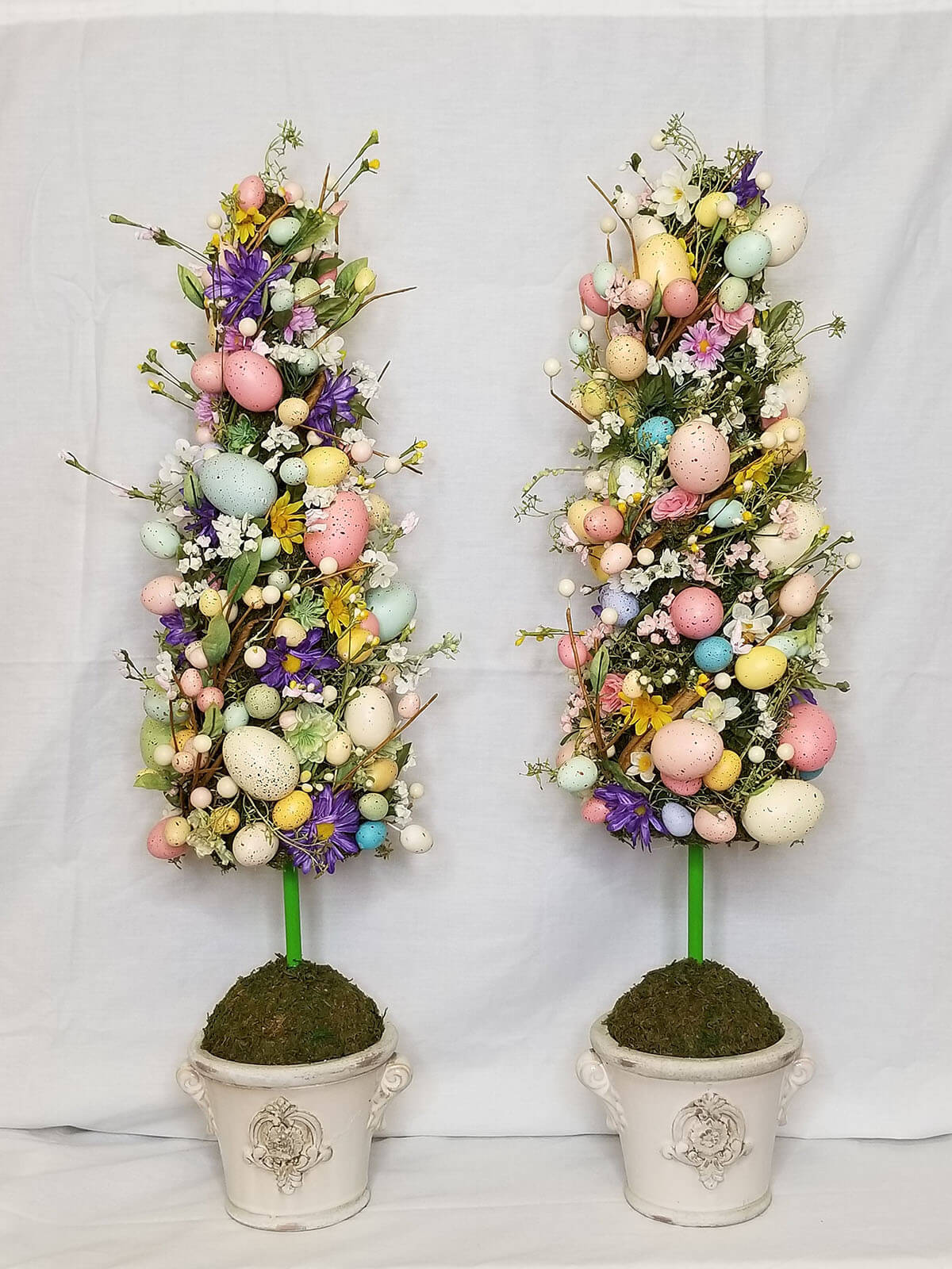 Hand-Crafted Spring Easter Egg Topiary