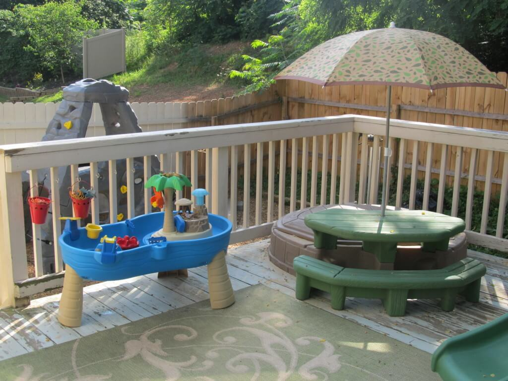 Budget-Friendly Patio Play Space