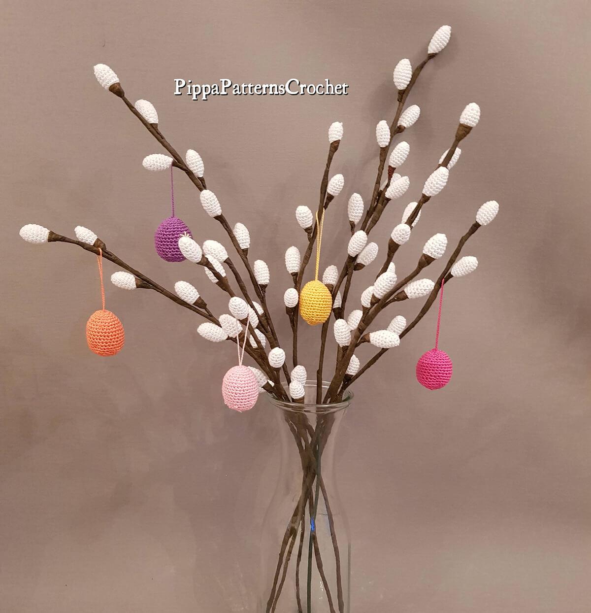Easy to Make Crochet Easter Tree Pattern