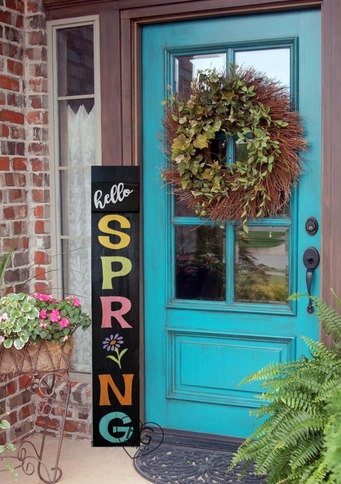 Add a Rustic Flair to Your Porch
