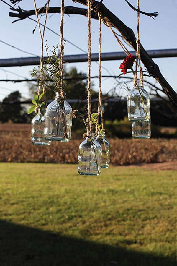 Pendent Bud Vases for Weddings & Parties