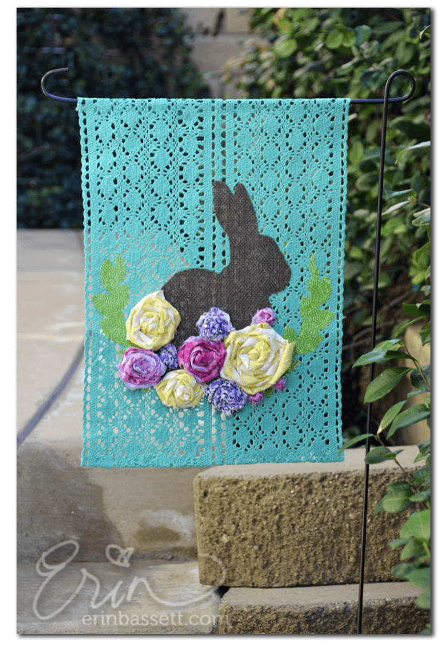 A Spring Garden Flag That'll Have You Hopping for Joy