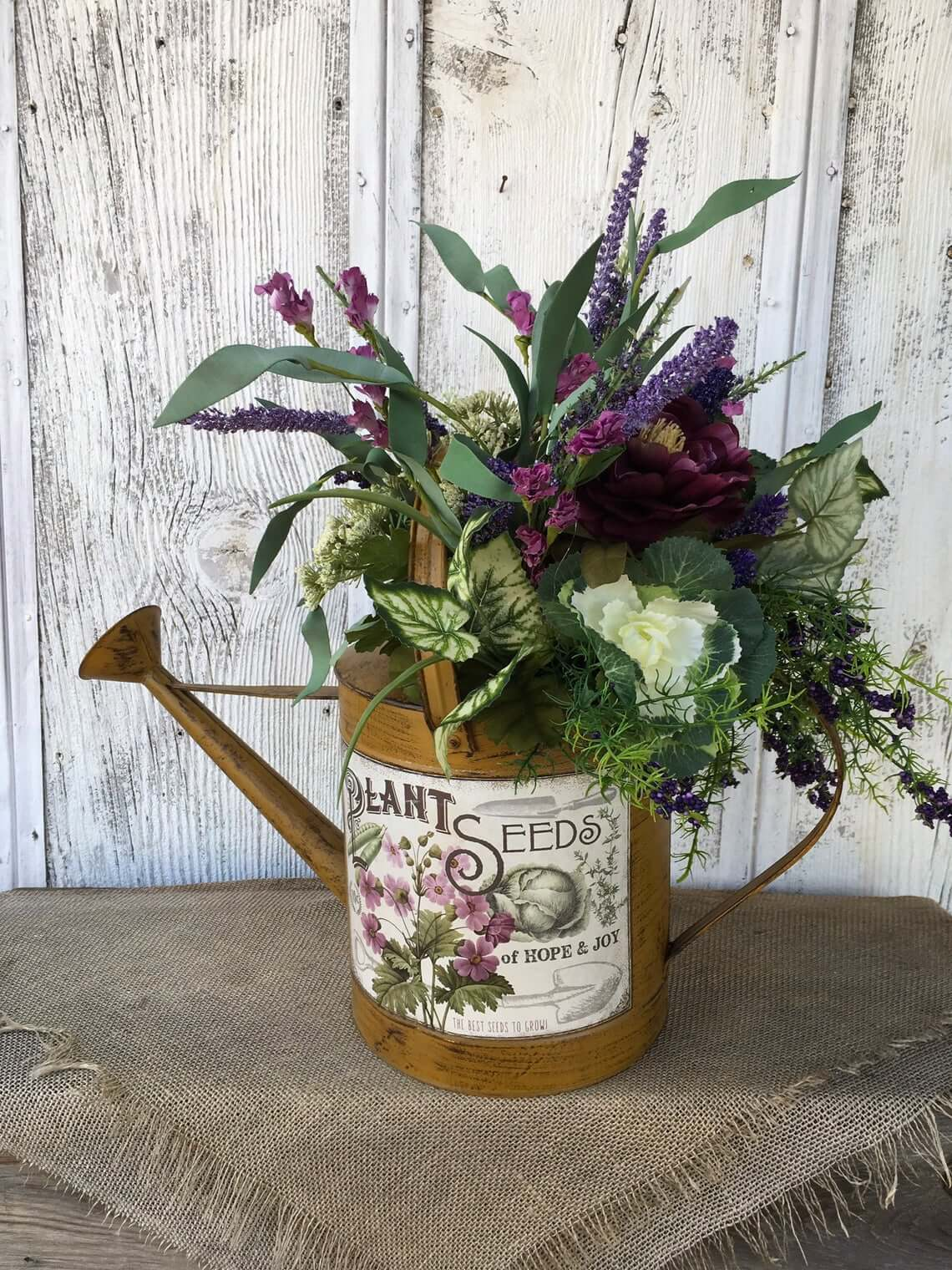 Radiate Freshness from a Watering Can