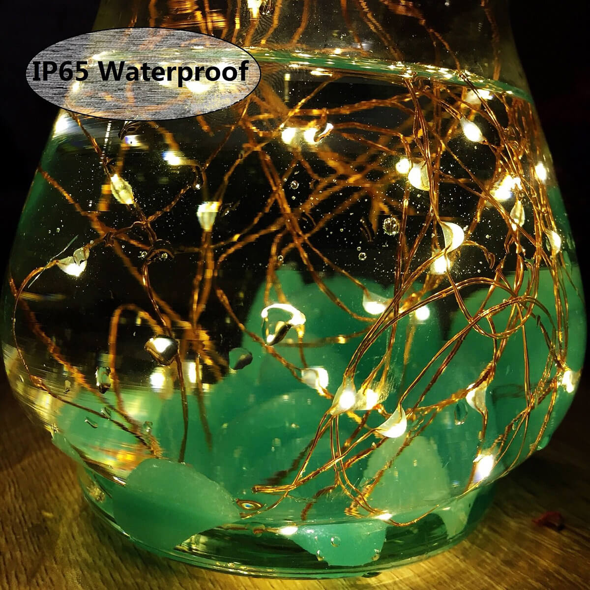 String up Some Solar Fairy Lights