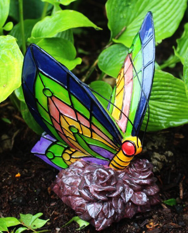 Color-Changing Butterfly Pathway Light