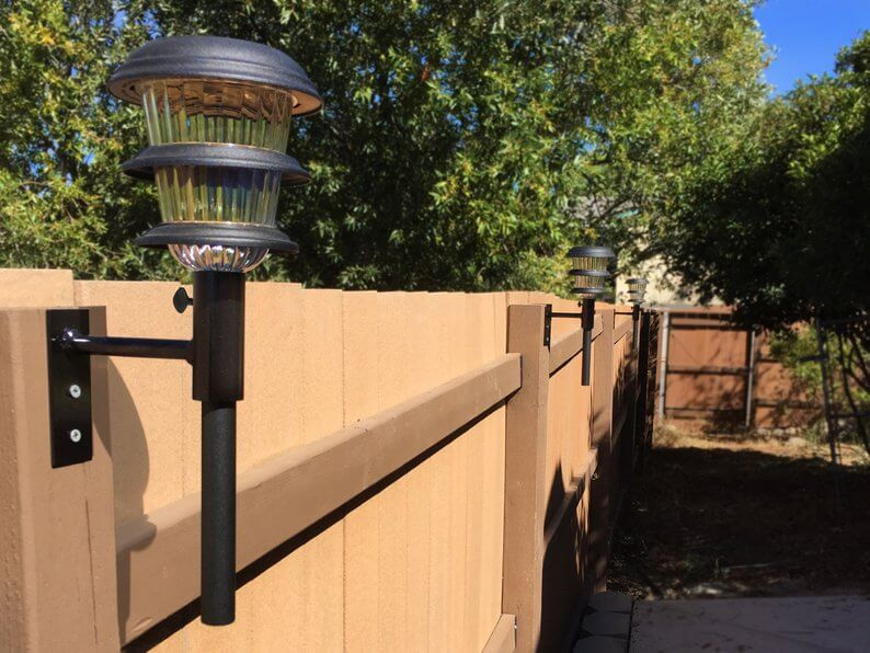 Mounted Solar Light Posts