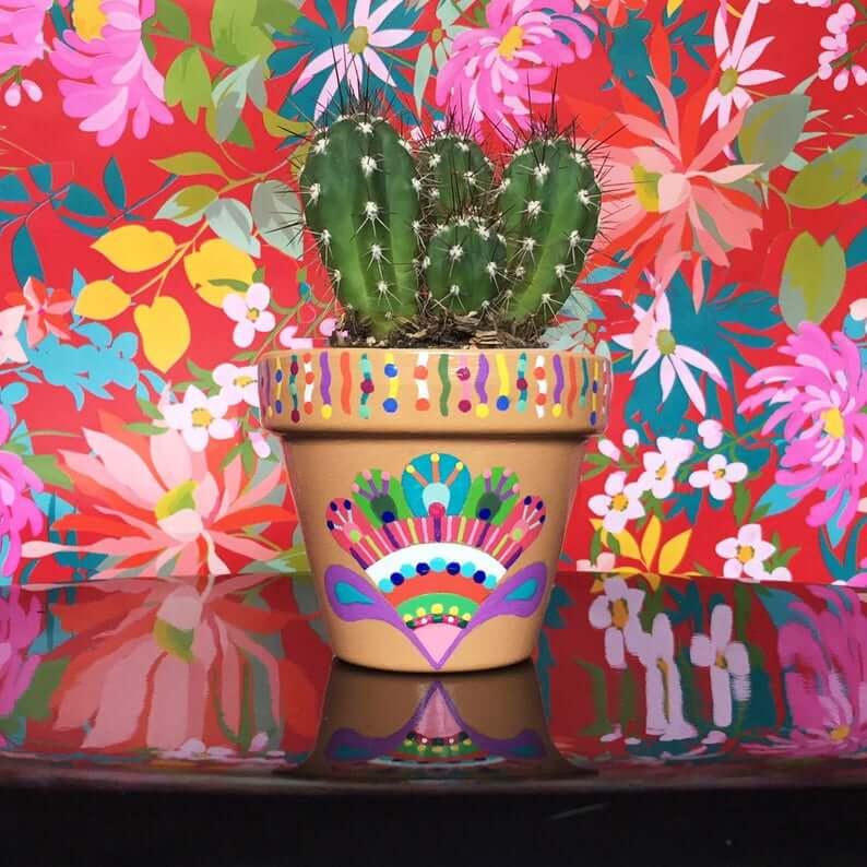 Vibrant Mini Succulent Flower Pots