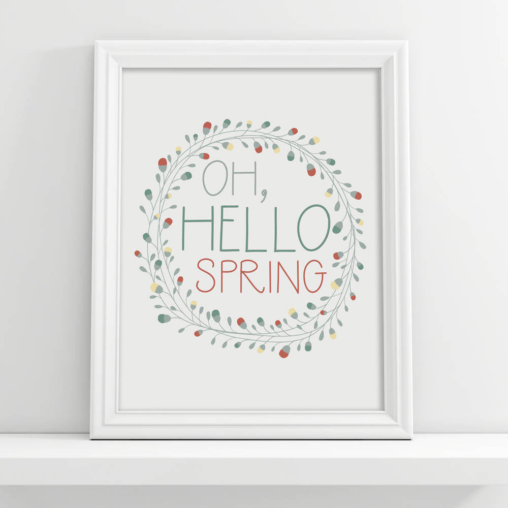 """Oh Hello Spring"" Digital Download"
