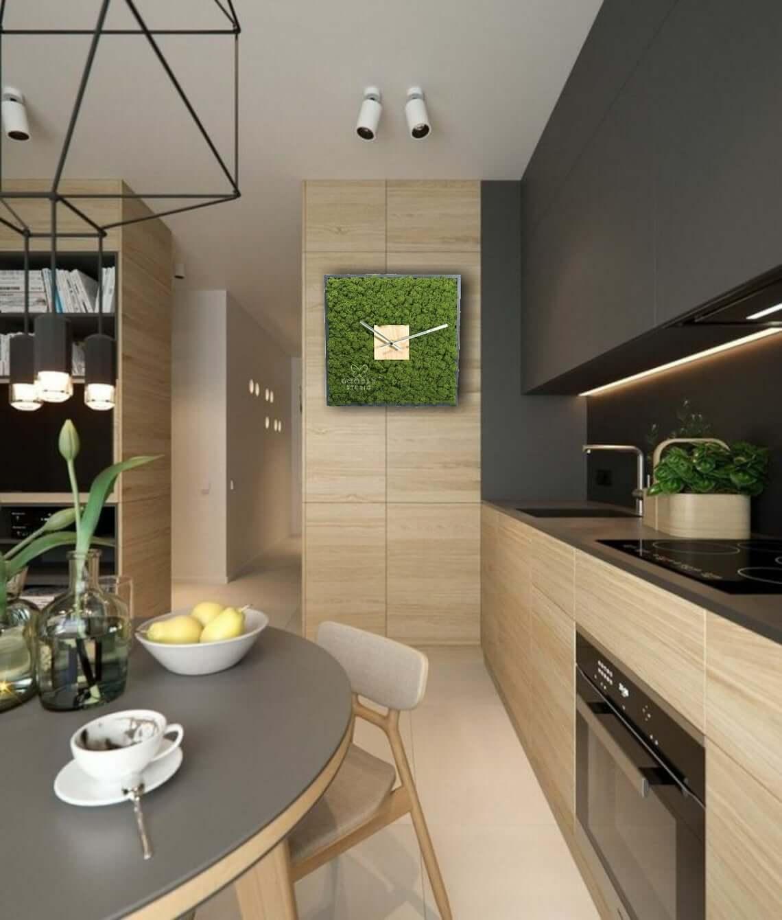 Quartz Moss Wall Clock Design