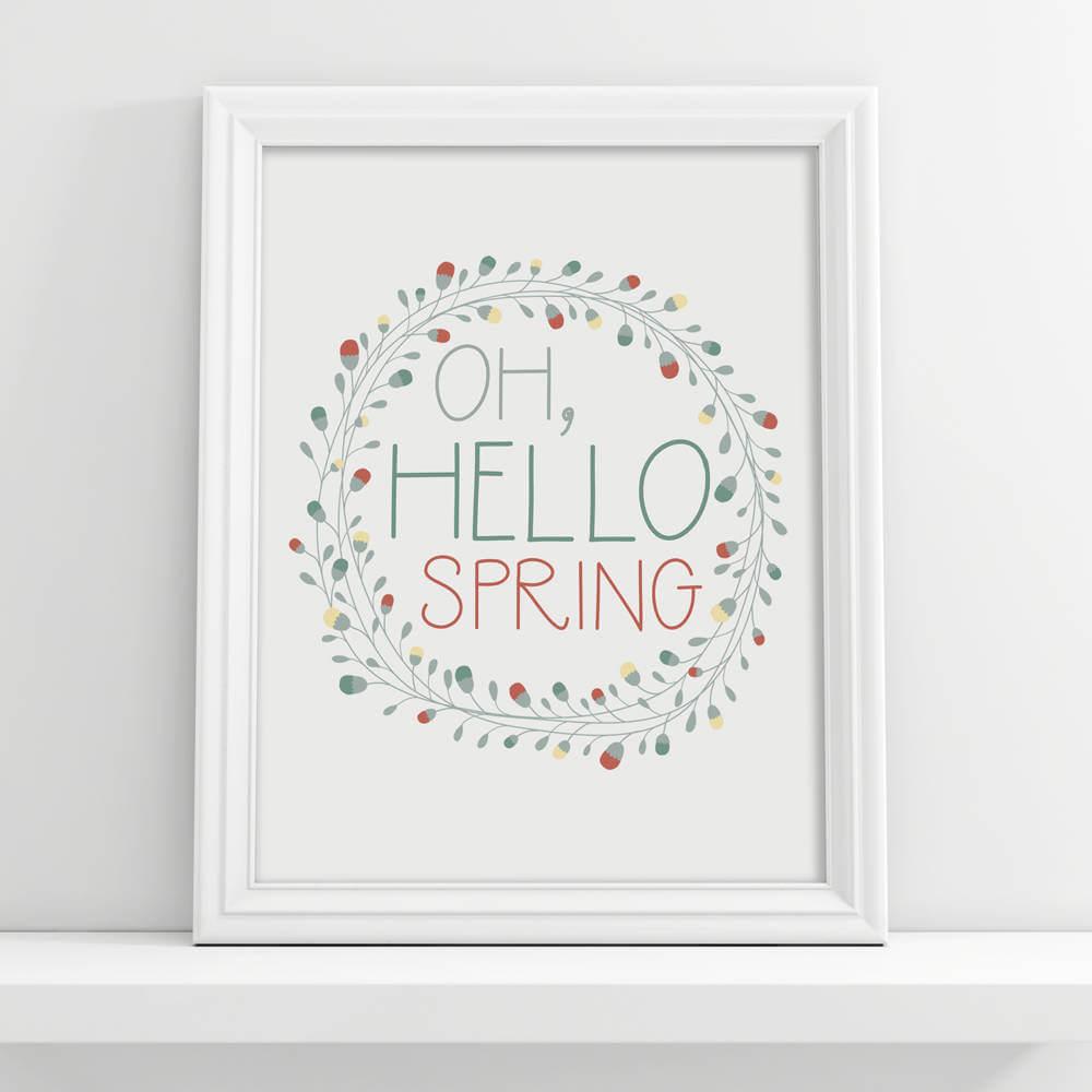 """Oh Hello Spring"" Digital Download"