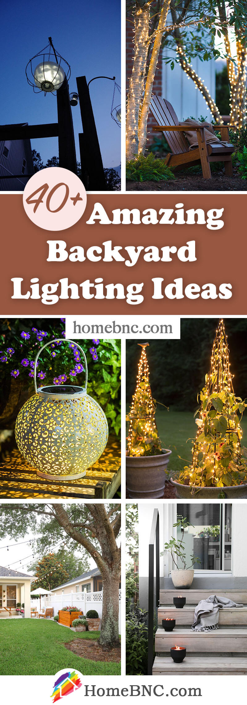 Backyard Lighting Projects