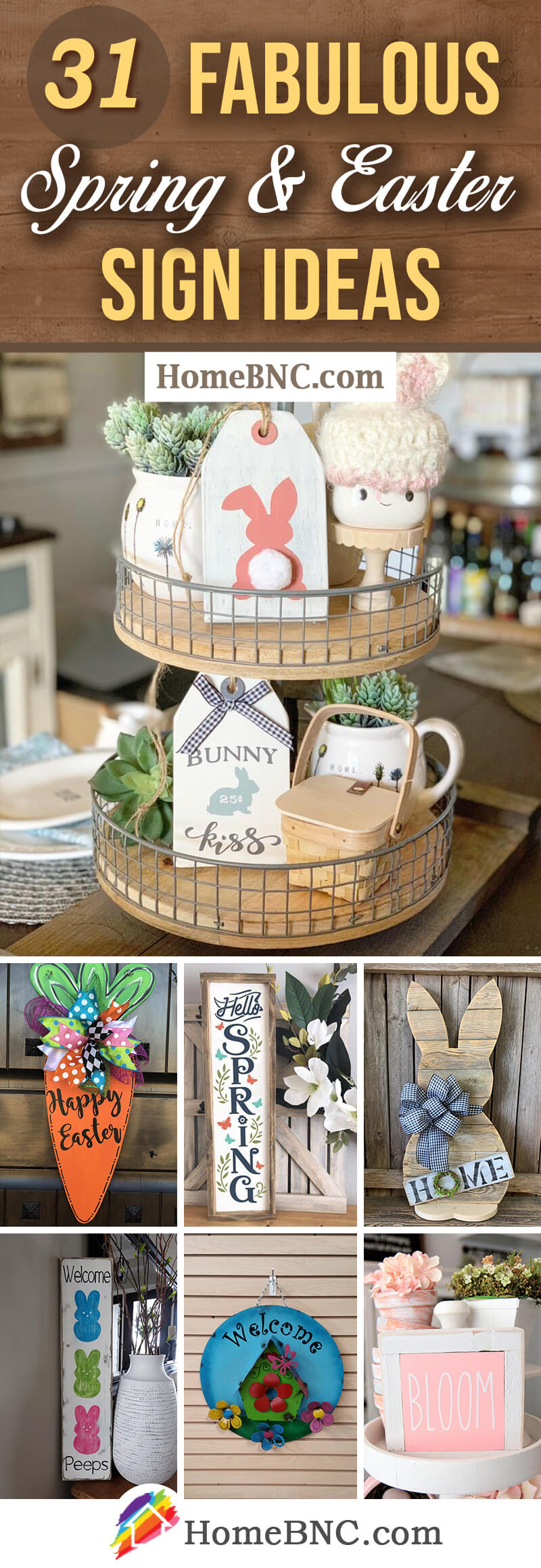 Best Spring and Easter Sign Ideas
