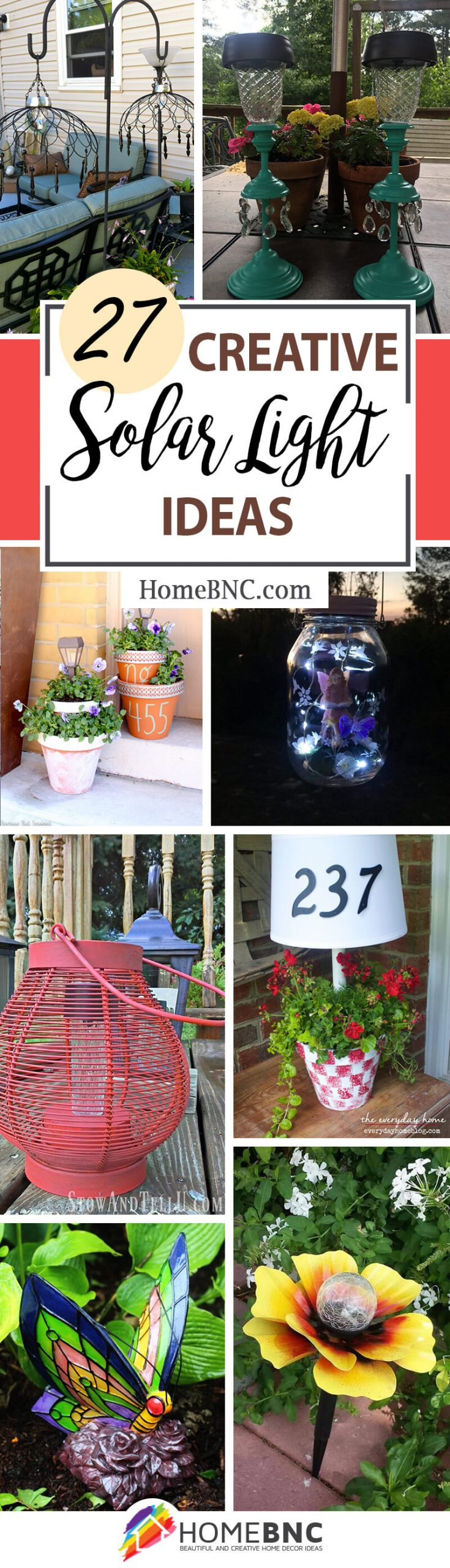 27 Best Creative Solar Light Ideas And Designs For 2021