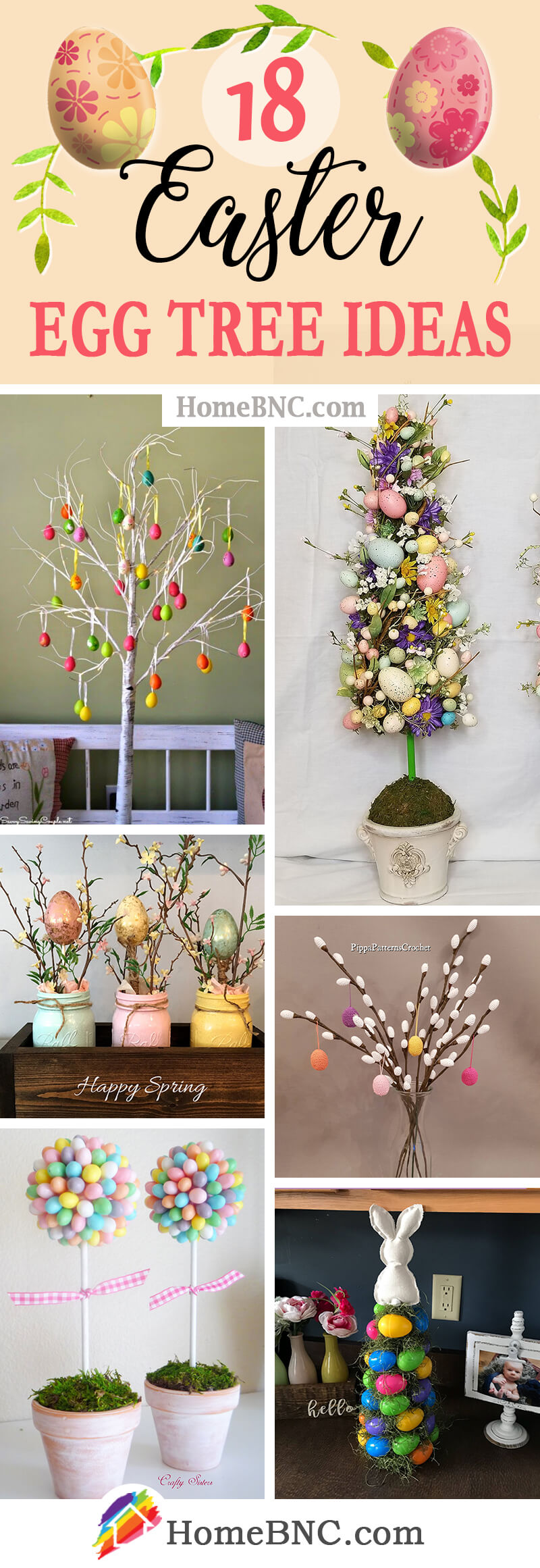 Easter Egg Tree Ideas