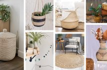 Eco-friendly Seagrass Home Decorations