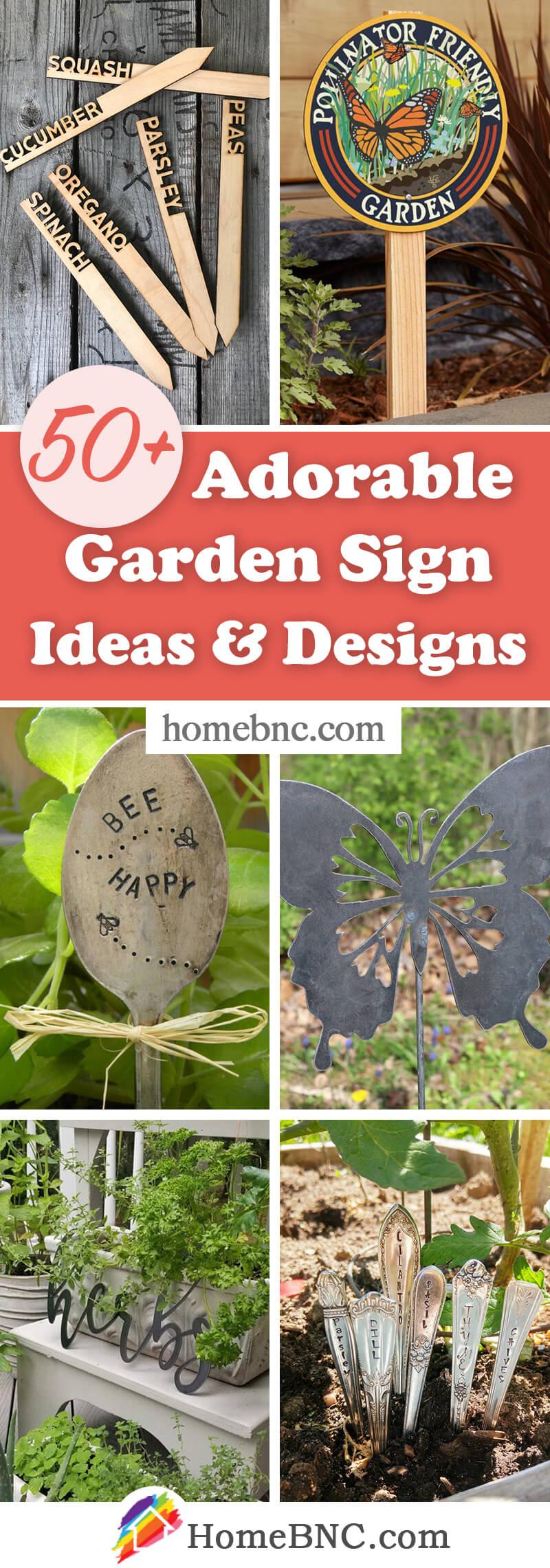 Best Garden Signs