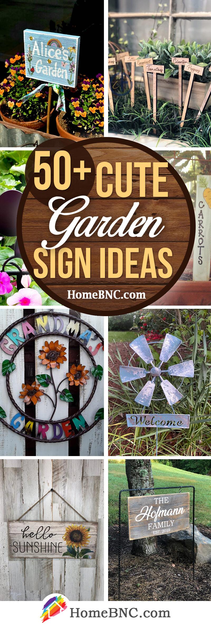 Best Garden Sign Ideas