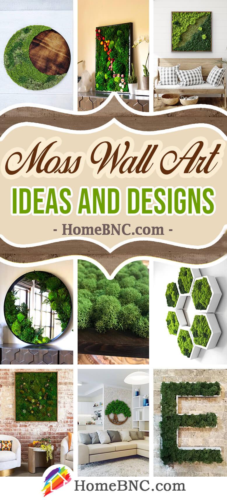 Best Moss Wall Art Ideas And Designs