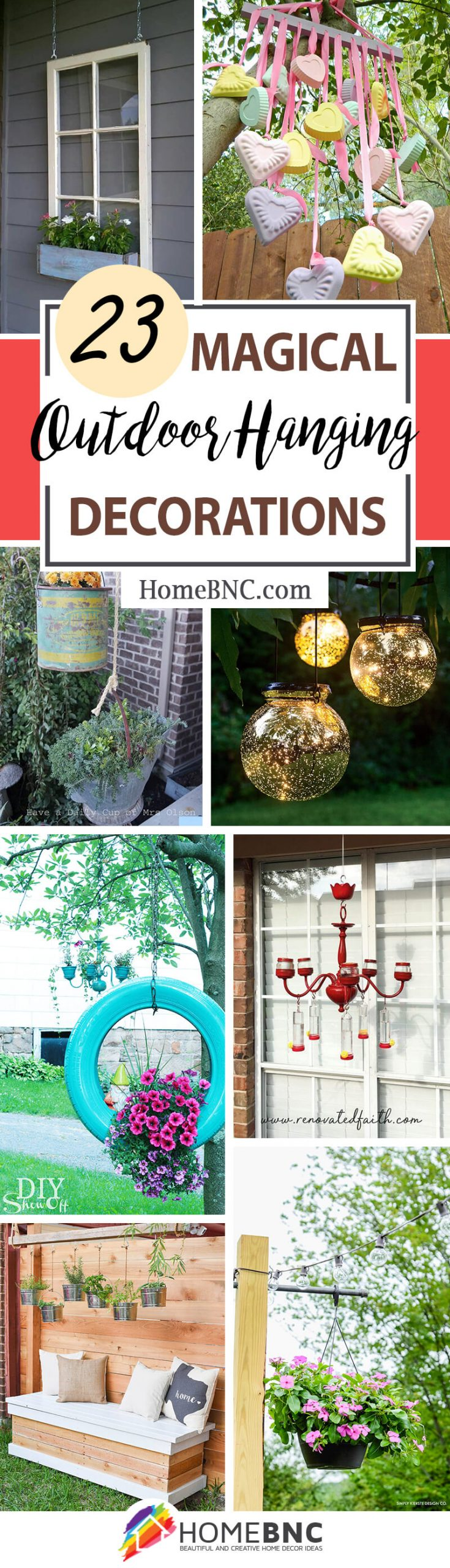 Outdoor Hanging Decoration Ideas