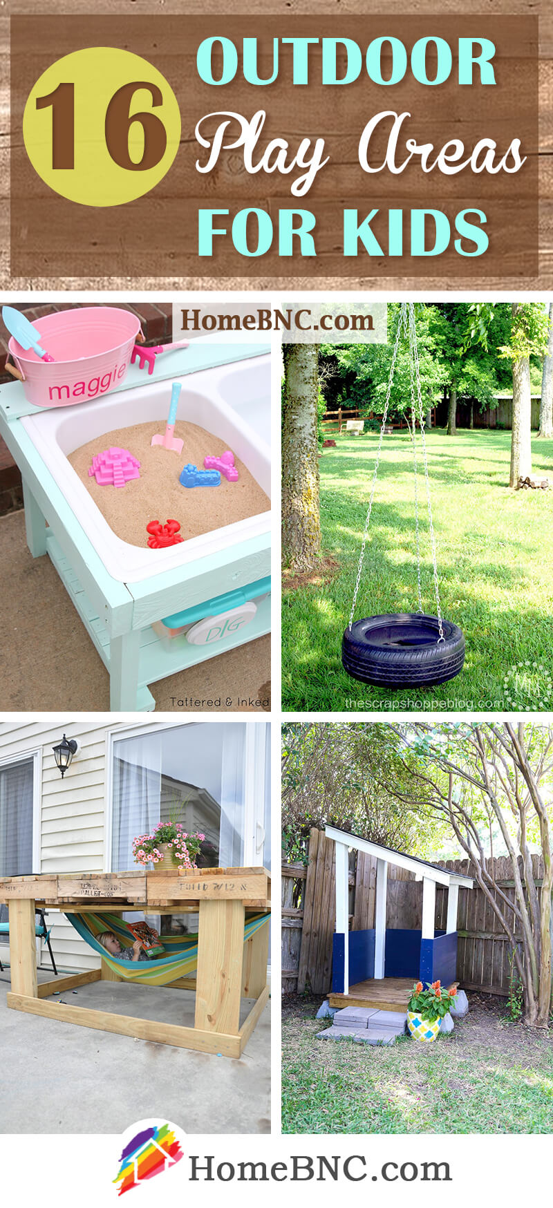 Outdoor Play Area Ideas for Kids