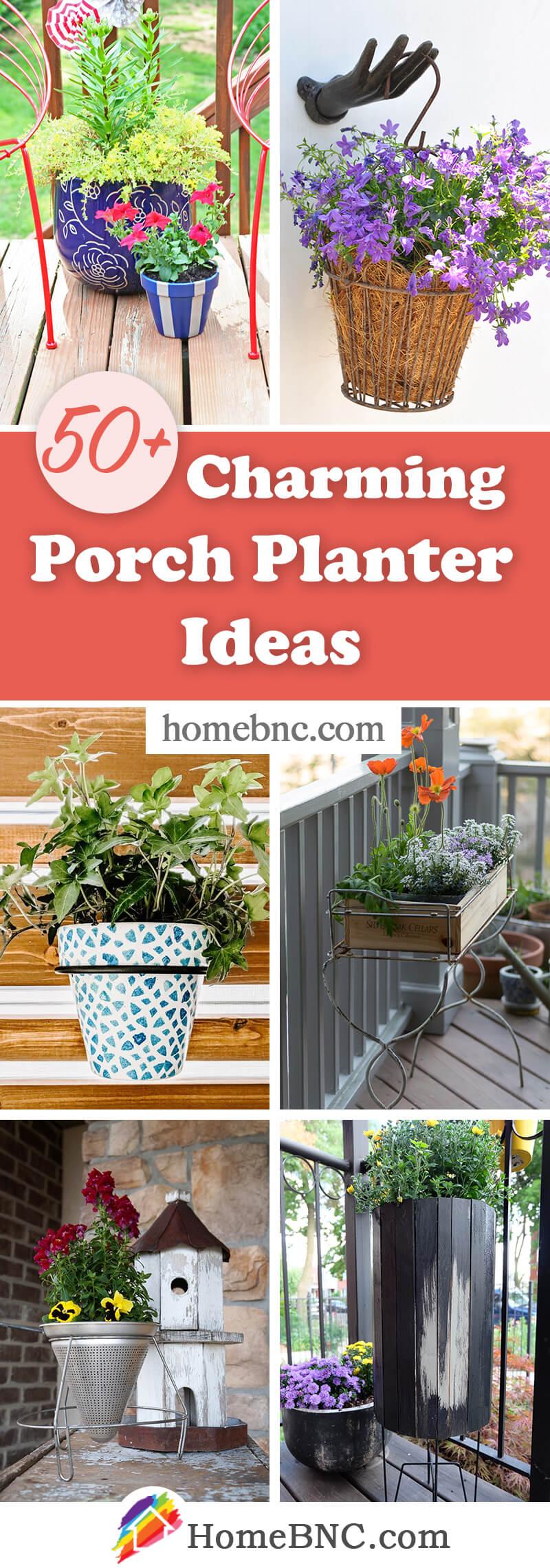 Porch Planter Designs