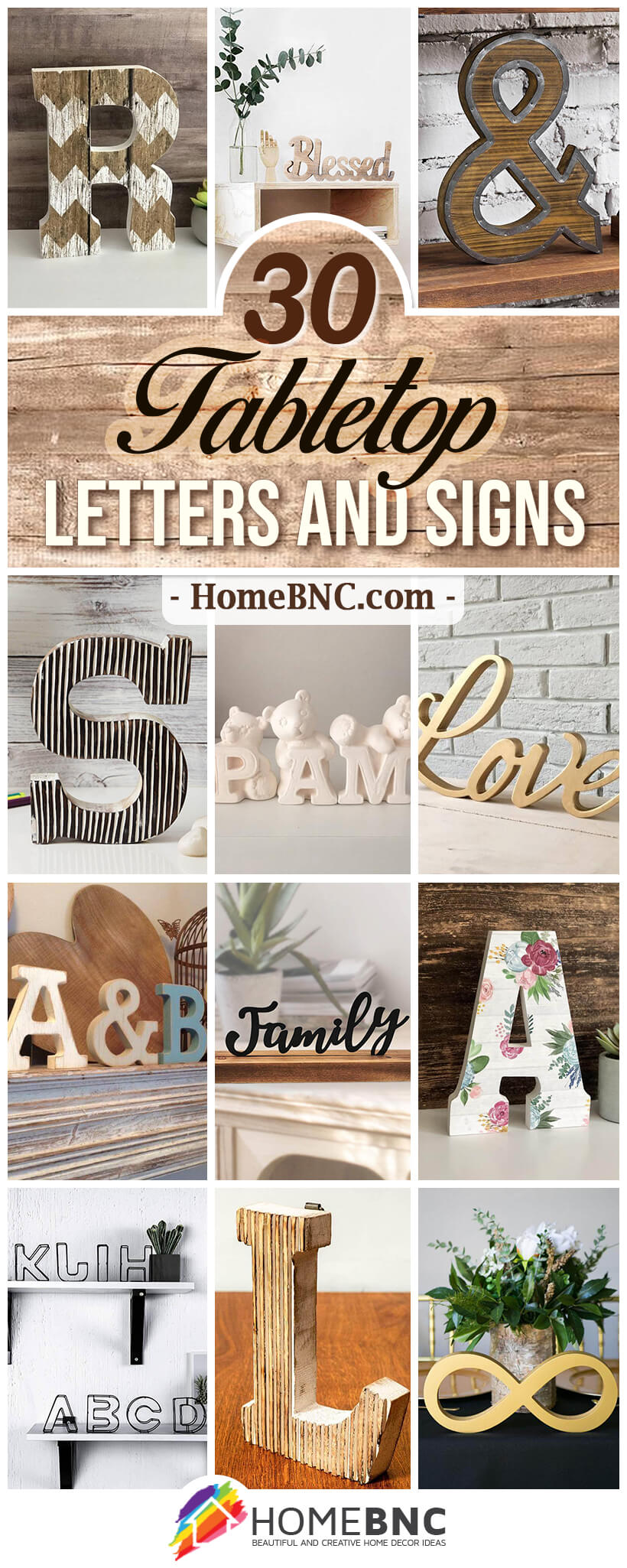 Best Tabletop Letters and Signs