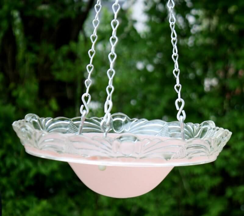 Beautiful Hanging Glass Bowl