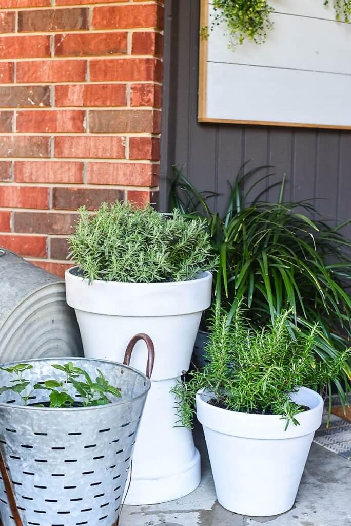 DIY Two-Pot Planter Project