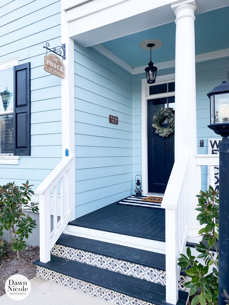 Cool Front Porch Sign Collage
