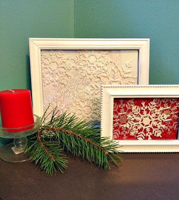 Serene and Simple Crafty Snowflake Pictures