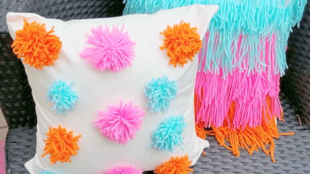 Young and Fun Pompom and Fringe Accessories