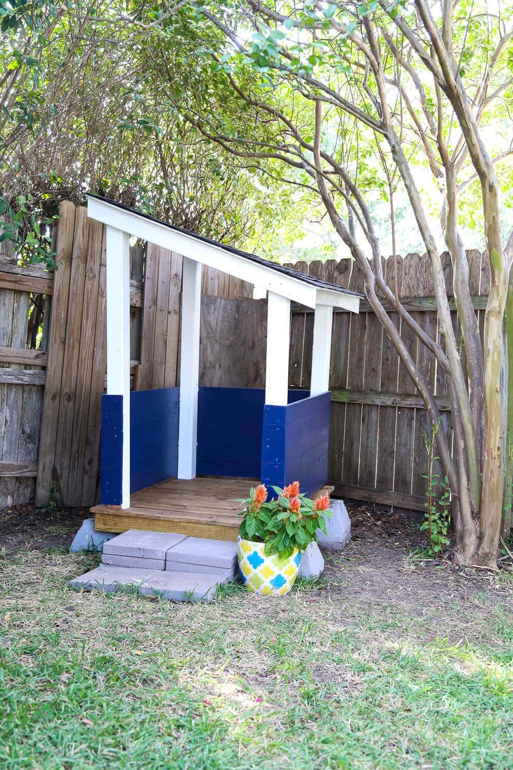 The Ultimate Outdoor Playhouse Project