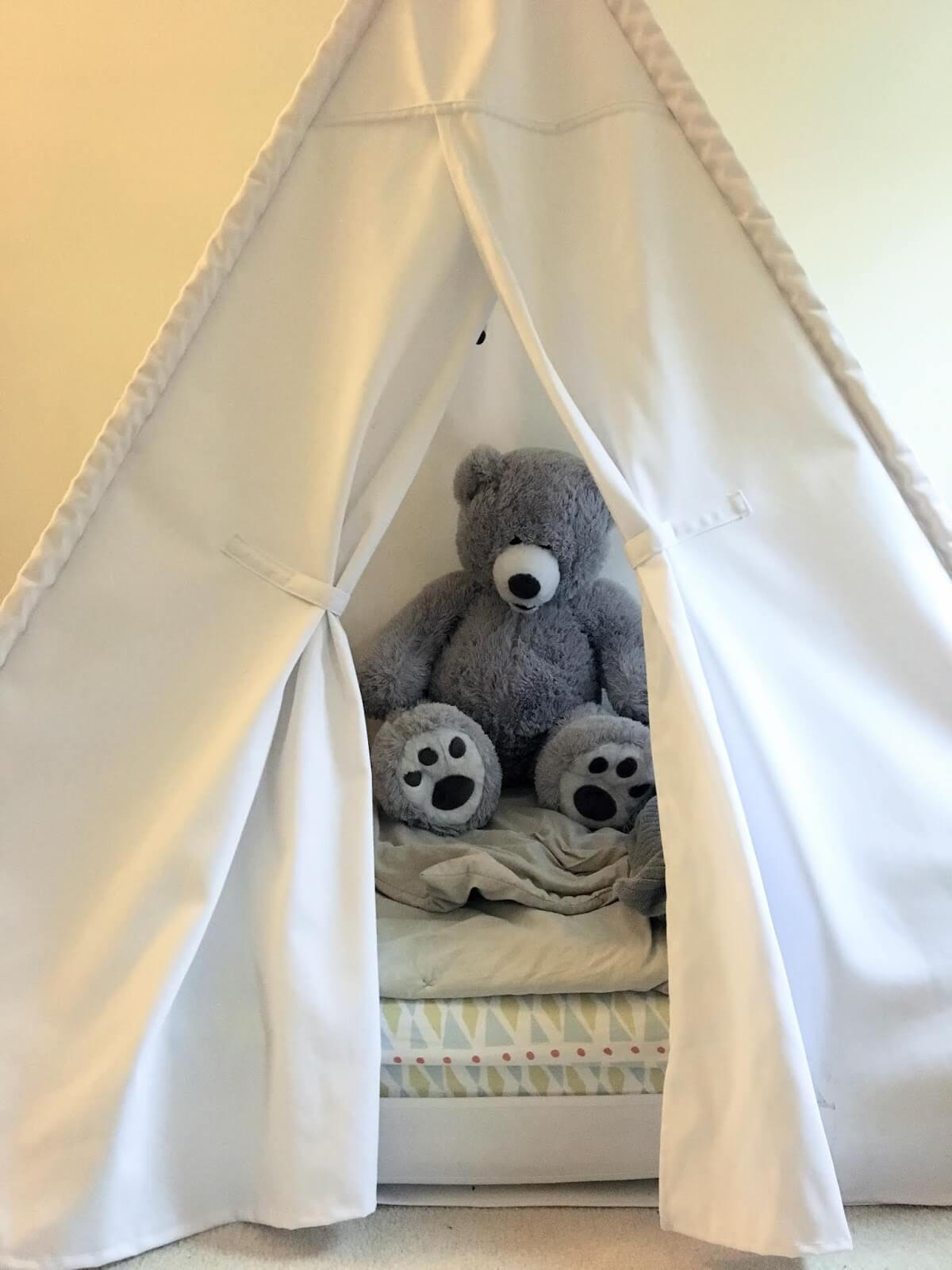 Sweet Teepee Toddler Floor Bed