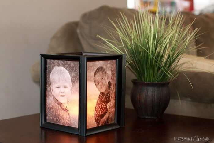 Personalized Illuminated DIY Photo Cube