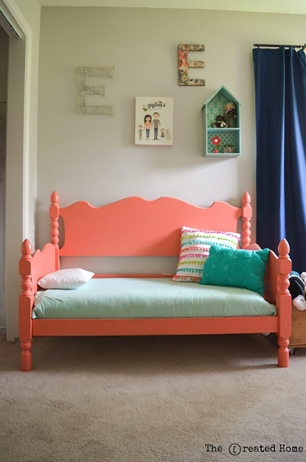 Cute Princess Style Toddler Daybed