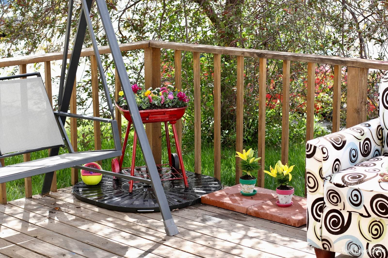 Grillin' Up Some Garden Goodness Yard Art Idea
