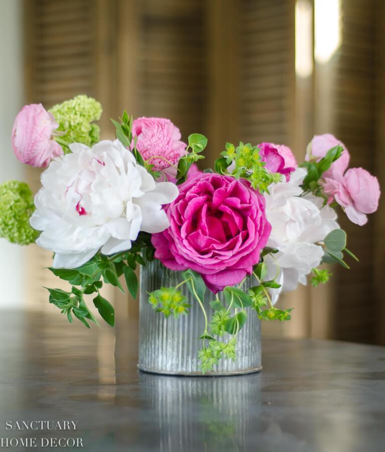 Colorfully Bold Spring Floral Arrangement