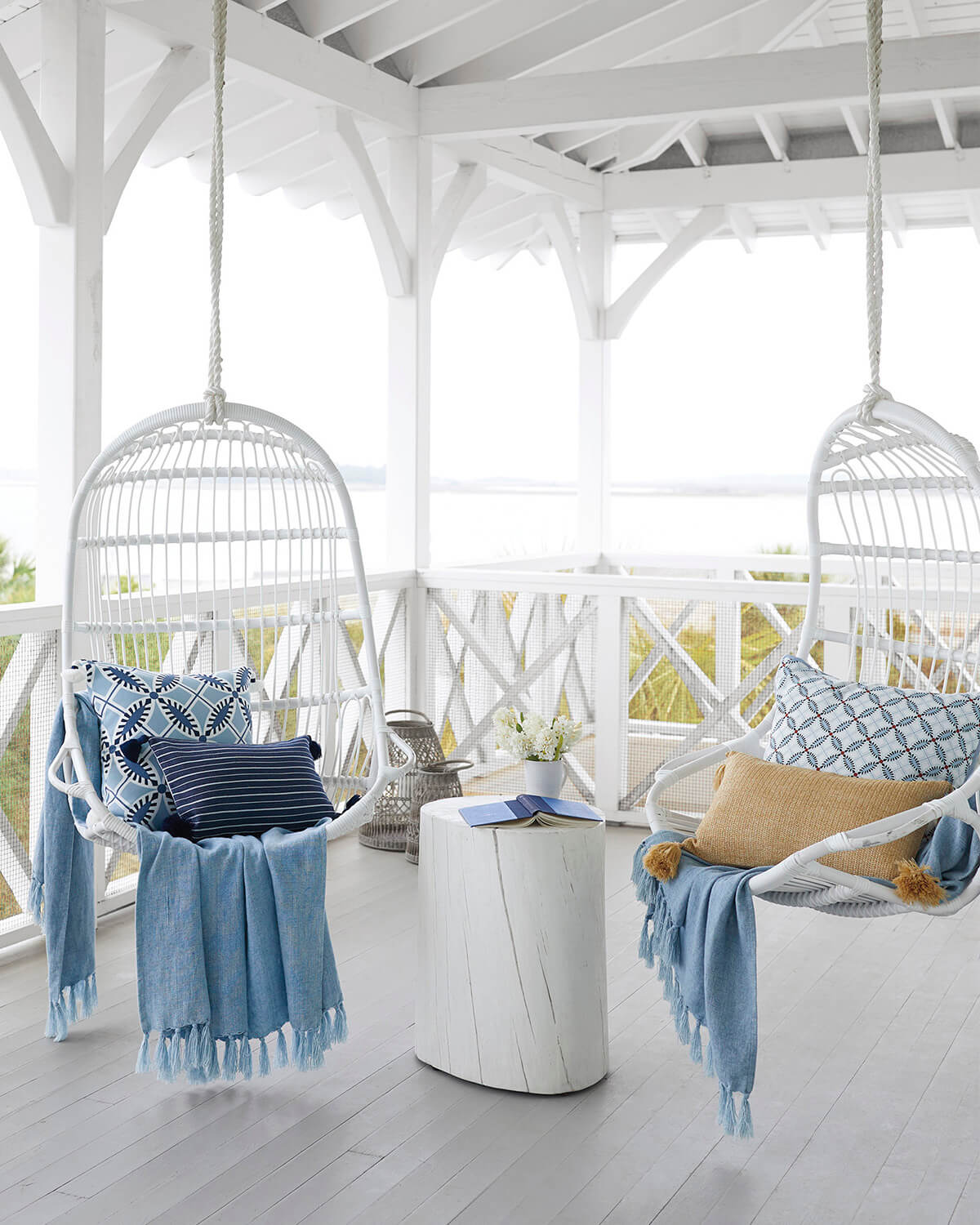 Unique Porch Swings Keep Your Deck Fresh