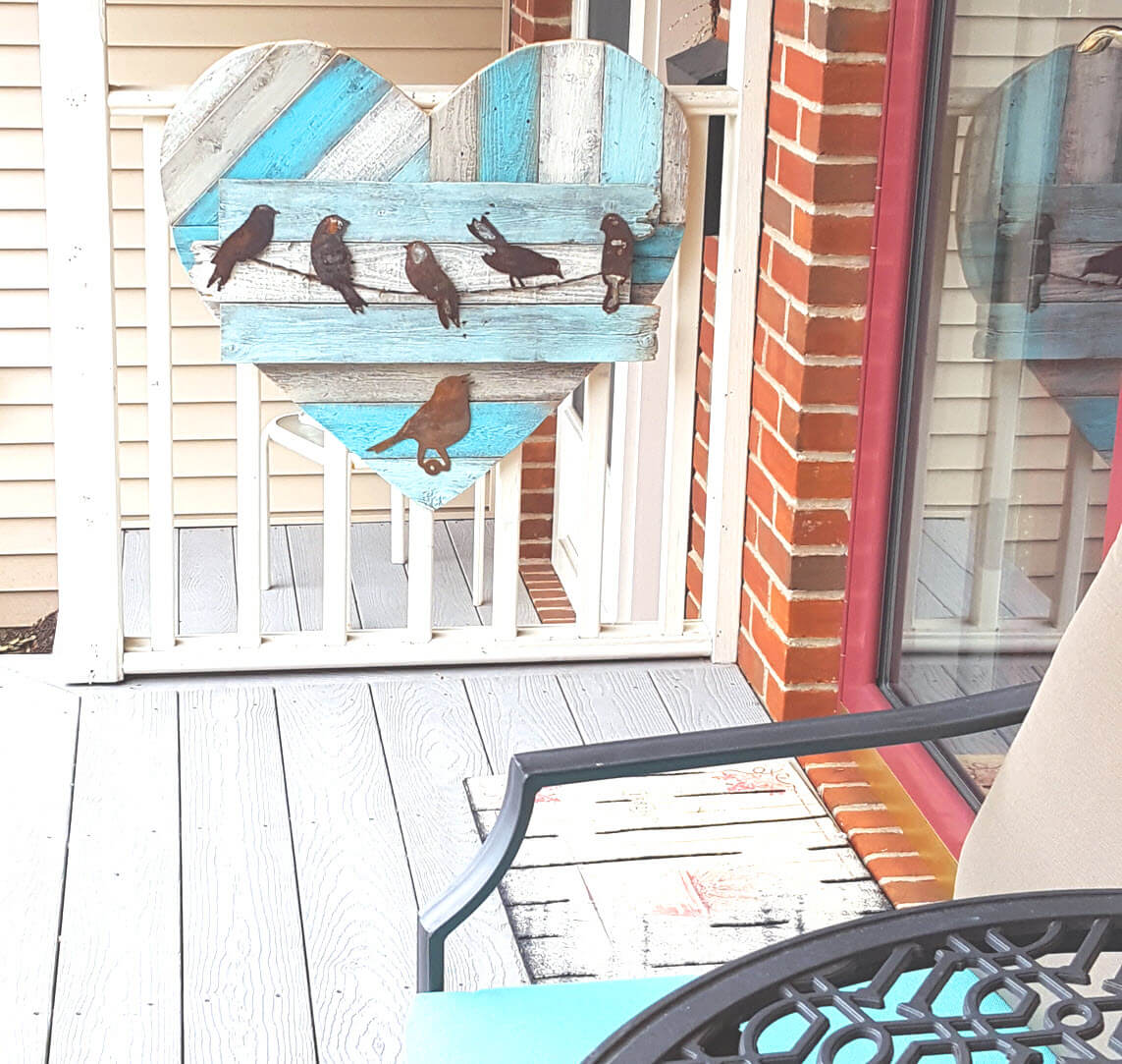 Beautiful Birds Kept Close to Heart