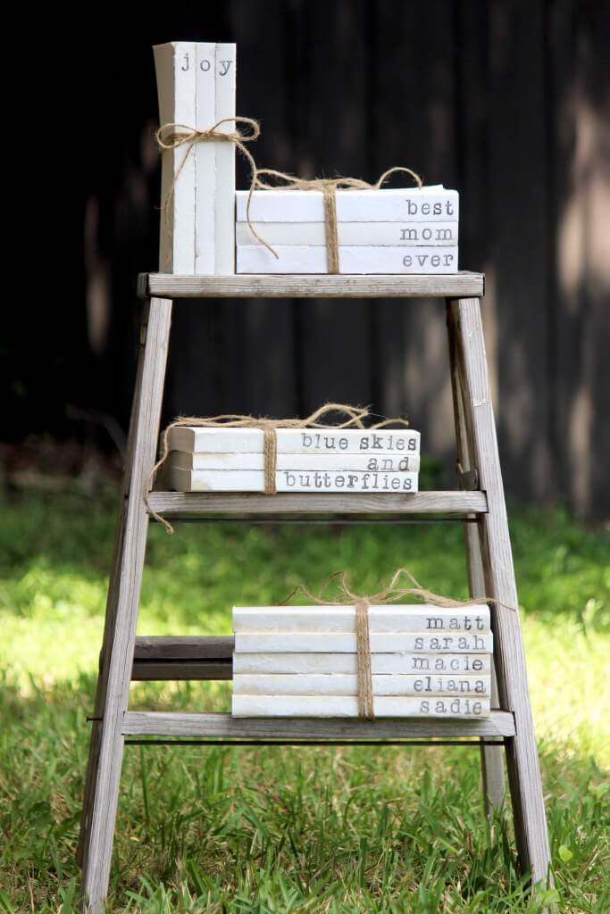 Vintage Book Sets Tied with Twine