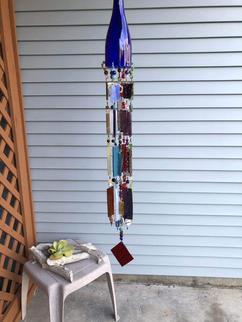 Mosaic Wind Chime Sun Catcher