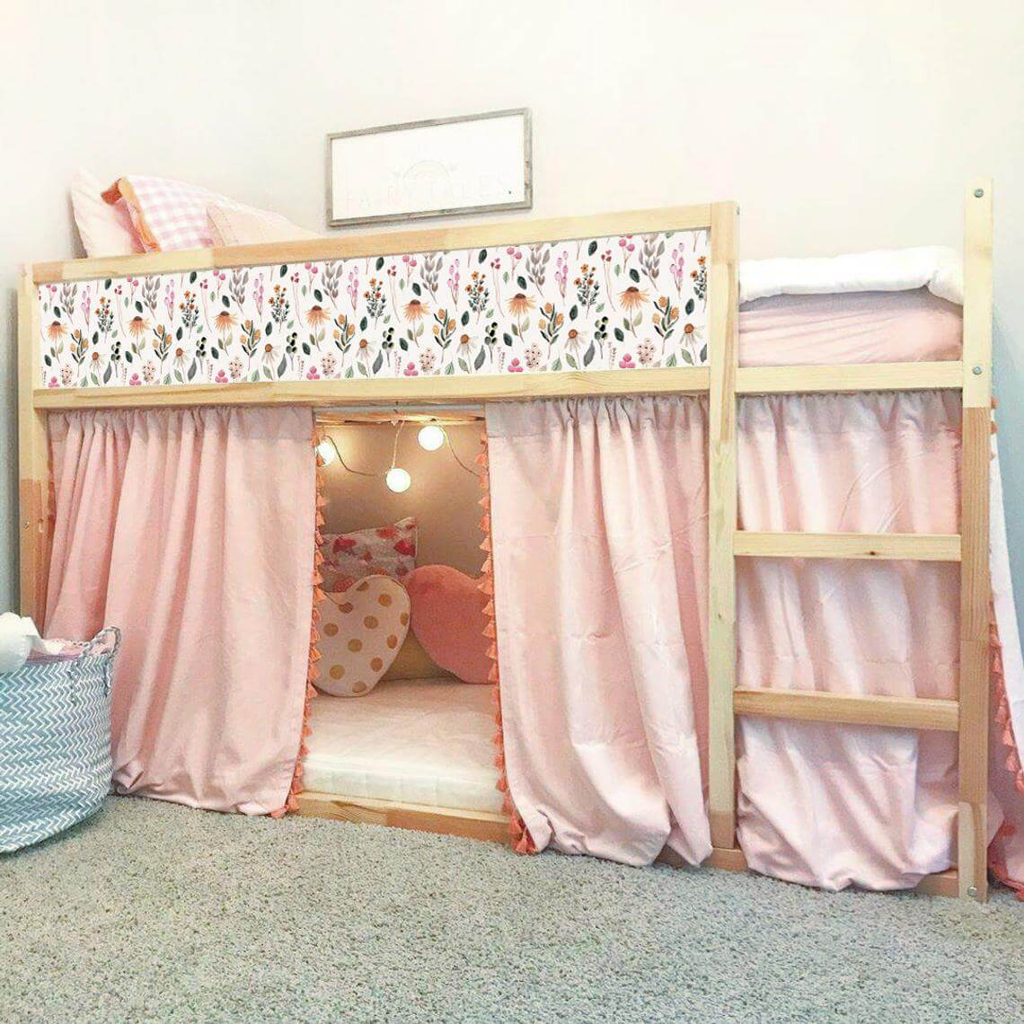 Pretty Floral Decal Designs for KURA Bed