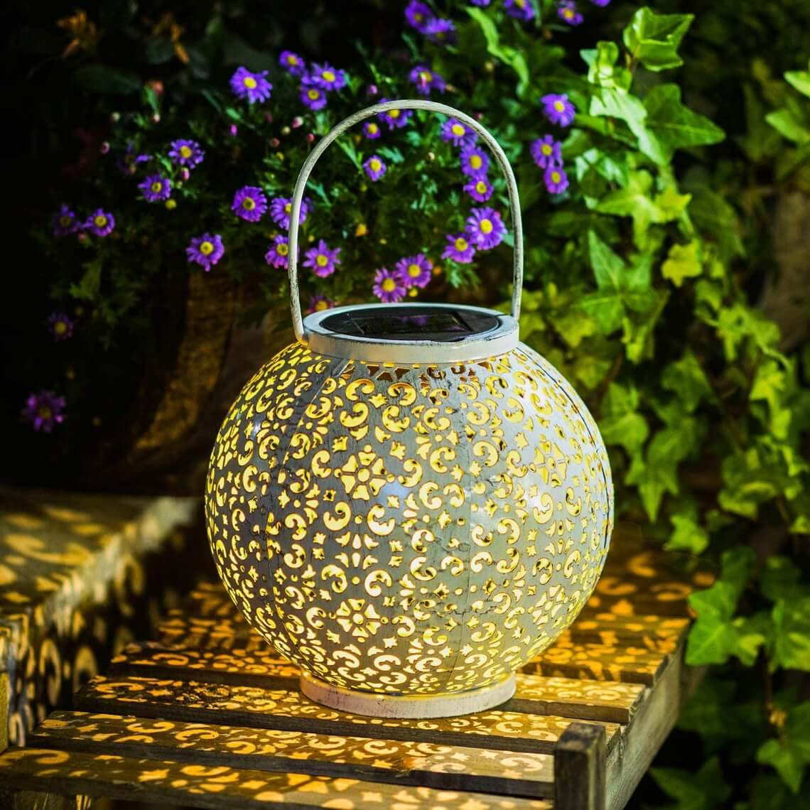 Intricate and Ornate Outdoor Chinese Lantern