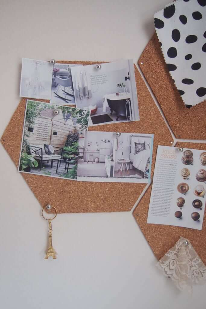 Cute and Quirky Cork Honeycomb Photo Hub